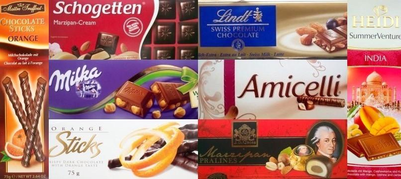 Czekolady i pralinki - pyszne słodkości