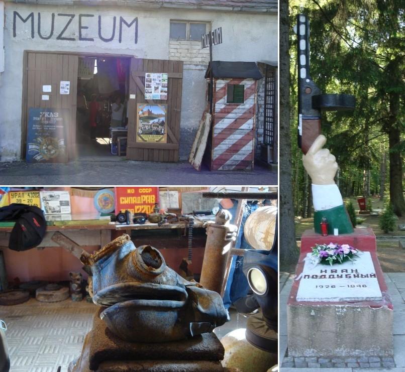 Borne Sulinowo muzeum i cmentarz