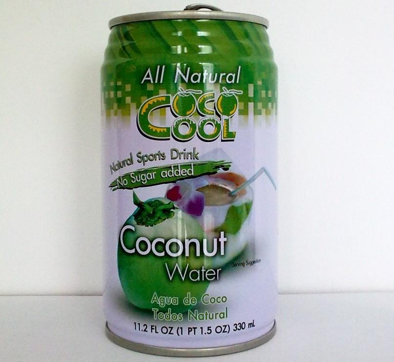 Puszka Coconut water - woda z wnętrza kokosa