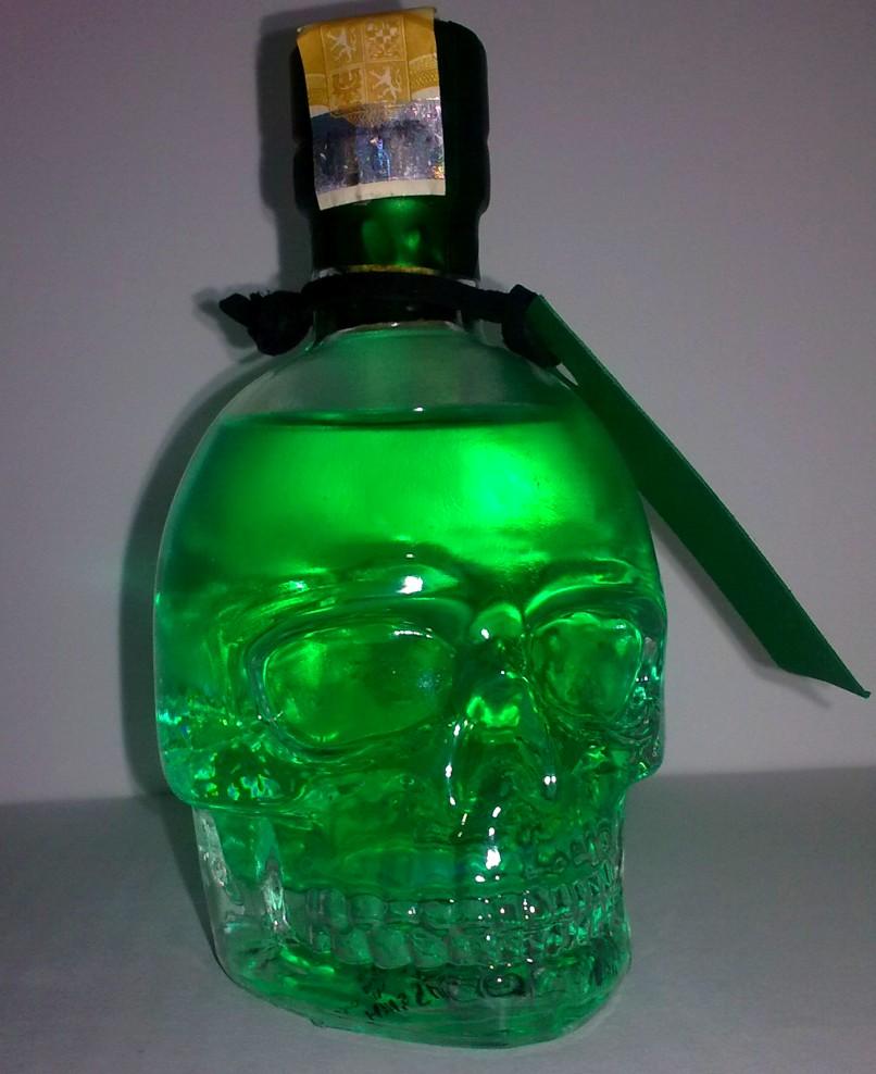 Absynt czaszka - pomysł na prezent