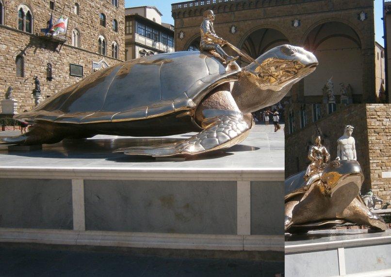 Florencja - rzeźba współczesna