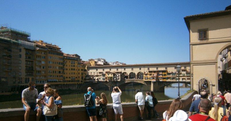 Florencja - rzeka Arno