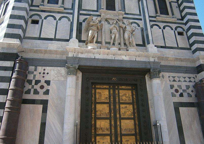 Florencja - drzwi
