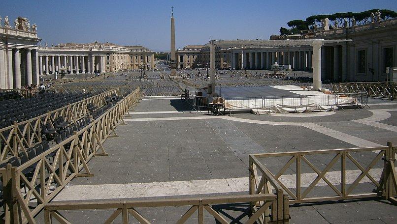 Watykan - główny plac