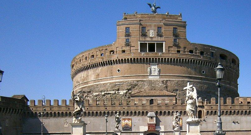 Zamek Świętego Anioła w Rzymie