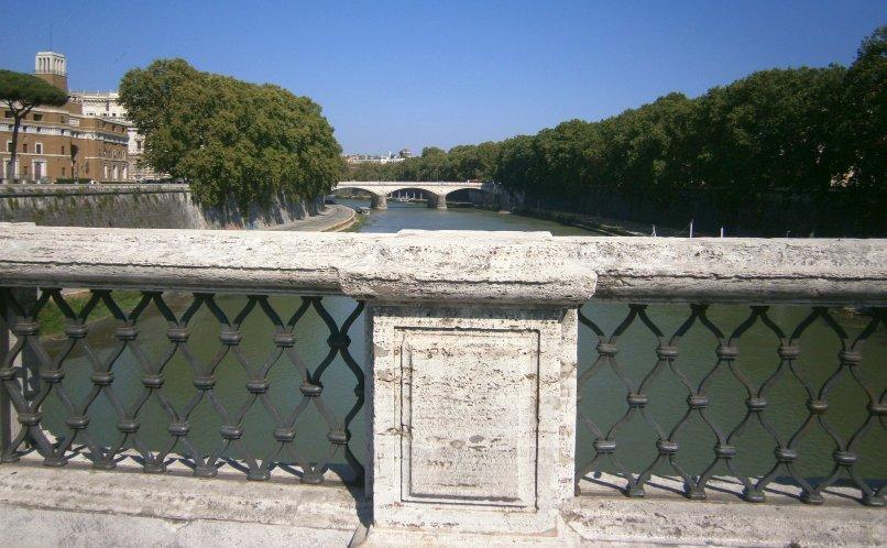 Zwiedzanie Rzymu - Tybr
