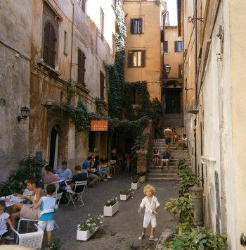Zwiedzanie Rzymu - zaułki