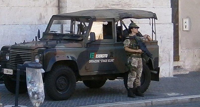 Esercito Italiano w Rzymie