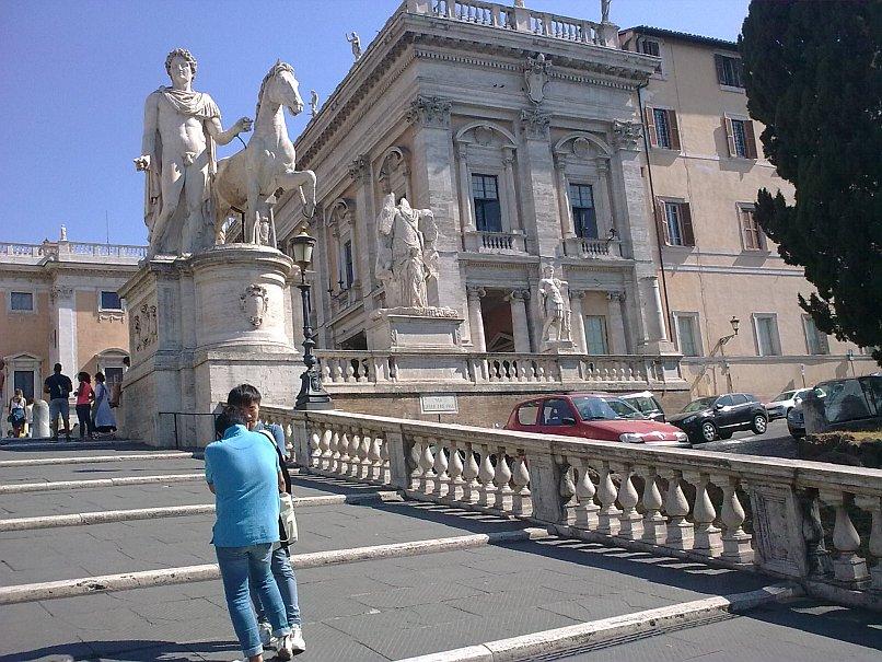 Plac na Kapitolu w Rzymie