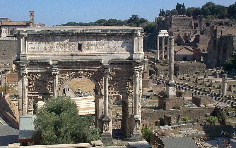 Łuk triumfalny Septymiusza Sewera w Rzymie