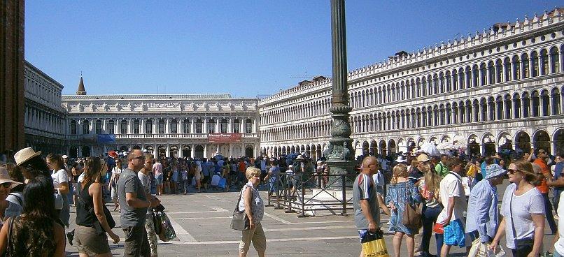 Wenecja - plac przed bazyliką świętego Marka