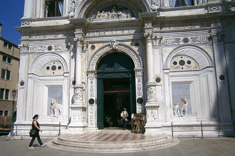 Wenecja - najpiękniejsze na świecie wejście do szpitala