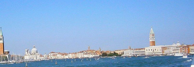 Wenecja - widok z Adriatyku