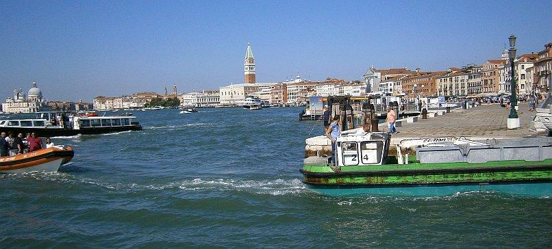 Nabrzeże w Wenecji