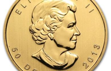Maple leaf - złota moneta bulionowa