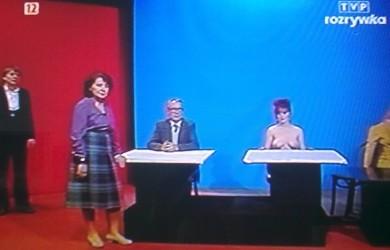 Losowanie lotto Kanal - Wojciech Mann w TVP